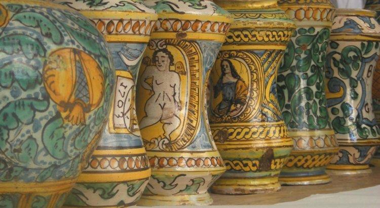 Burgio le ceramiche storiche degli alberelli